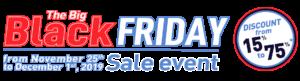 Black Friday dans tous nos boutique AuLit