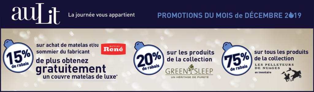 Promotions du mois de décembre- boutique AuLit