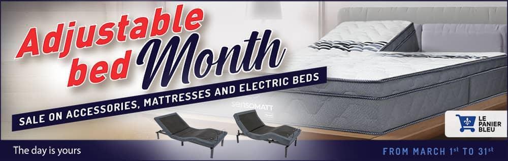 Adjustable bed month